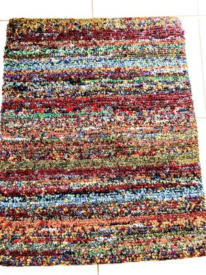 Recycled hand woven made